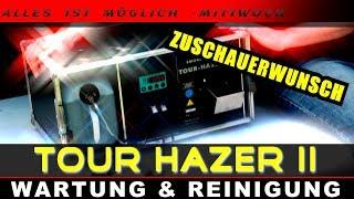 TOUR HAZER 2 von Smoke Factory Wartung und Reinigung