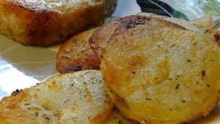 Golden Parmesan Potatoes