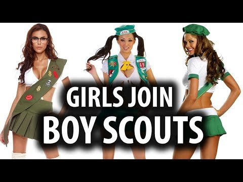 Why Girls Want To Join The Boy Scouts
