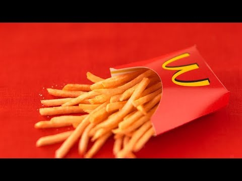 How To Make a Mcdonalds French Fry Cup | DIY