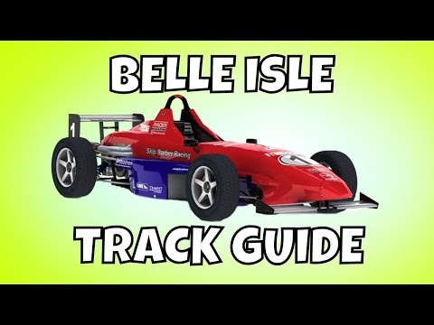 iRacing Skip Barber Track Guide - Belle Isle Detroit
