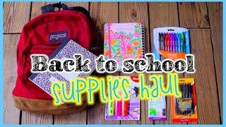Back to School Supplies Haul 2014 Thumbnail