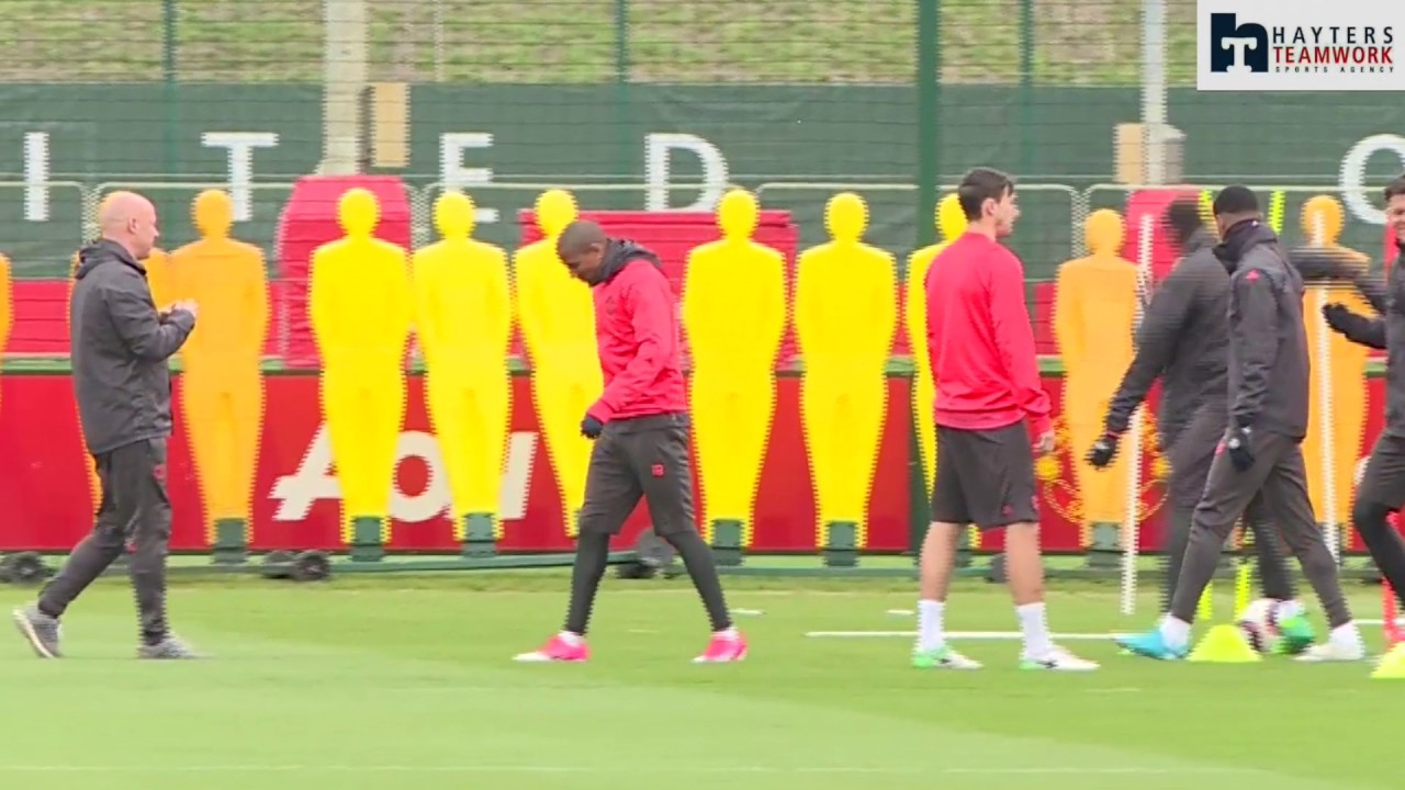 Who Did Pogba Hit Manchester United Training Ground Funnies Youtube