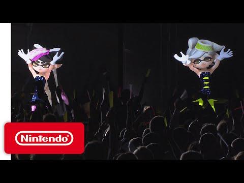 Splatoon - Squid Sisters Concert at Japan Expo 2016