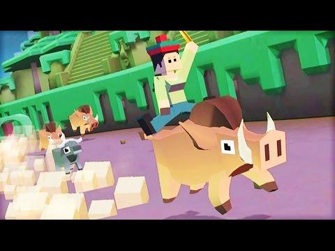 RUSTLING UP JUNGLE WILDLIFE | Rodeo Stampede