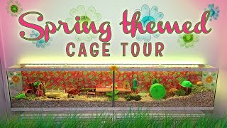 Spring Themed Cage Tour | 8 Ft. Tank