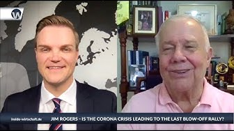 "Jim Rogers: ""Markets overbought - debt is skyrocking - US dollar bubble - Bitcoin will disappear"""