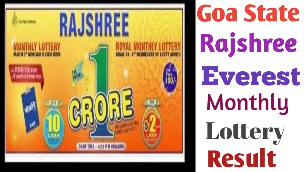 Goa State Everest Monthly Lottery Result 2019  - Thủ thuật máy tính