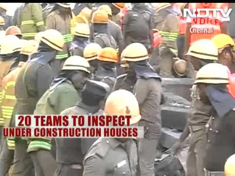 Flaws led to Chennai building collapse, say experts