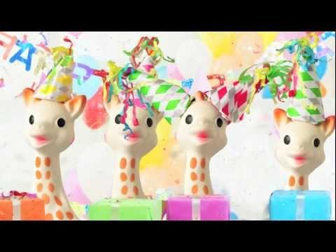 Sophie The Giraffe Turns 50!