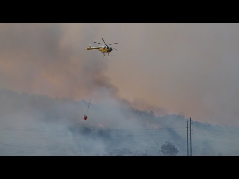 Homes evacuated as Makakilo brushfire advances