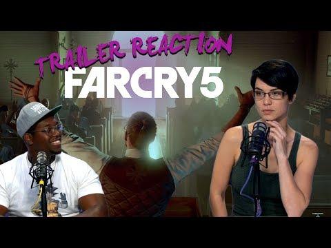FAR CRY 5 Trailer Reaction   ZOMG   Pamela Horton, Ify Nwadiwe, Zac Eubank