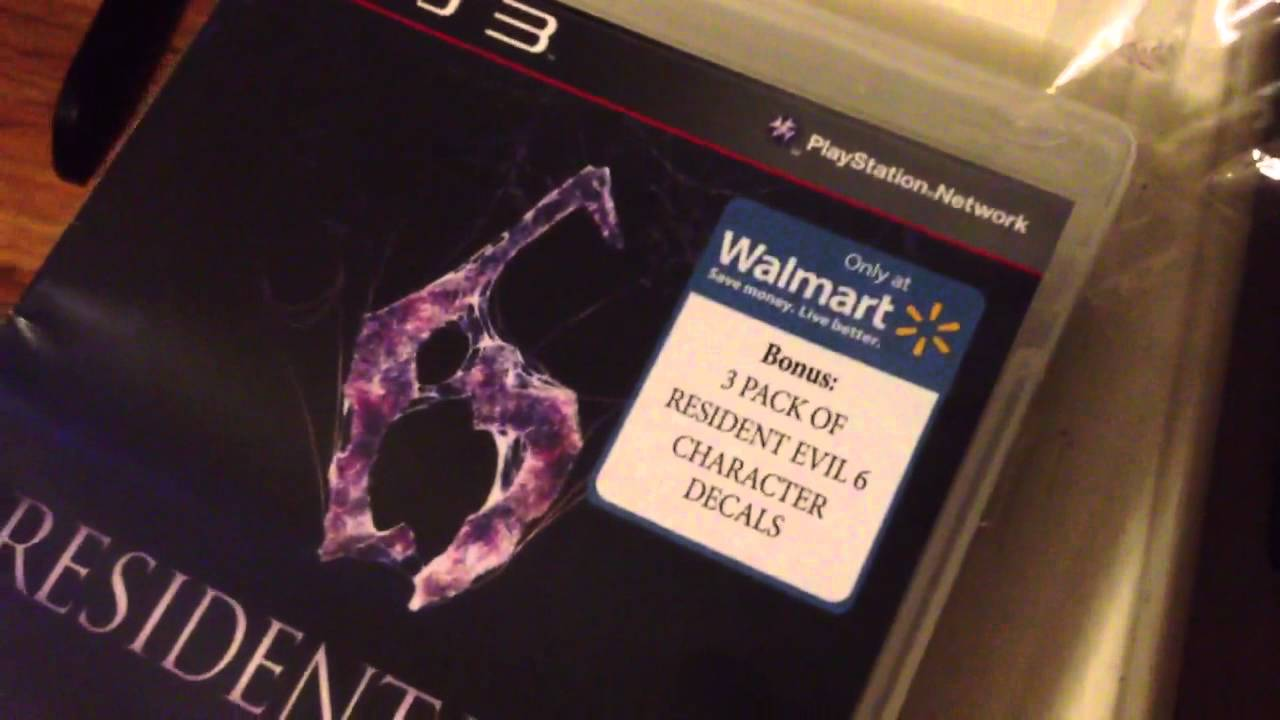 Walmart And Resident Evil 6 Youtube