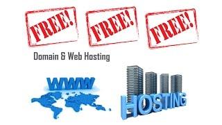 Create Website Free Domain and Hosting   Bangla Tutorial