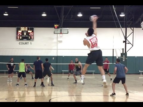 Open Gym Volleyball Highlights (Part 1/2) - 6/23/16