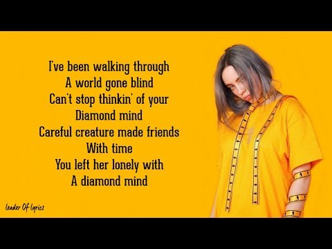 Billie Eilish - OCEAN EYES (Lyrics)