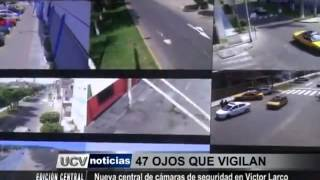 SERENAZGO VICTOR LARCO NUEVA CENTRAL DE MONITOREO Y VIDEO VIGILANCIA