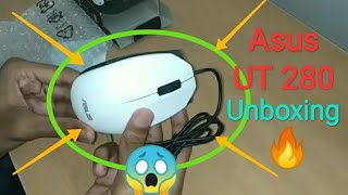 Asus UT 280 Wired Mouse Unboxing & Review