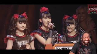 BABYMETAL FUNNY AND CUTE MOMENTS (REACTION) Here we have a reaction...