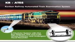 Train chekig staff C&W rolling in and out in kokan railway mumbai