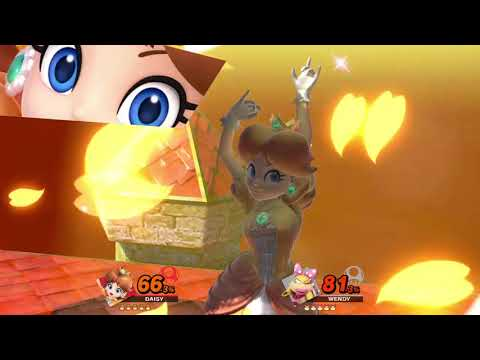 Super Smash Bros. Ultimate (Princess Daisy Vs. Wendy) #2