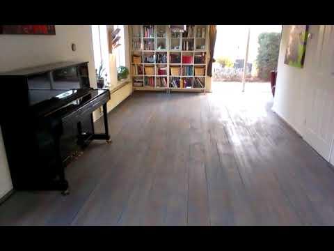 Houten vloer vergrijzen grey wash greywash youtube
