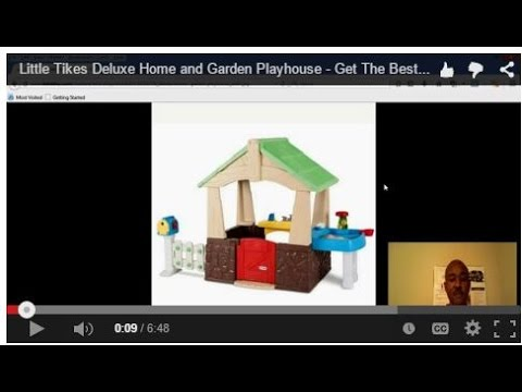 little tikes deluxe home and garden playhouse best deals and save money youtube - Little Tikes Home And Garden Playhouse