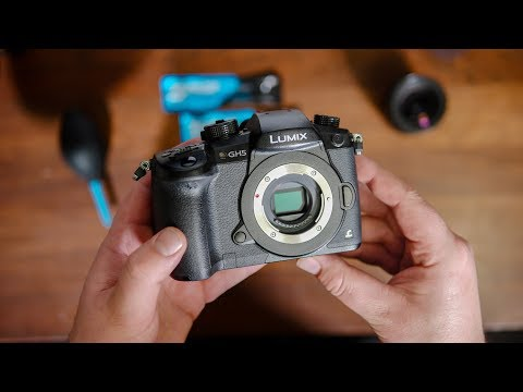 Cleaning my Panasonic GH5 Sensor with VSGO Cleaning Kit