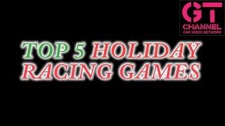 video thumbnail of Top 5 Holiday Racing Games