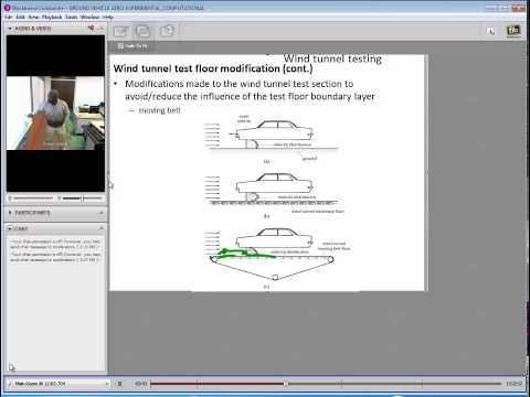 Experimental Aerodynamics for Ground Vehicles: Wind tunnel testing