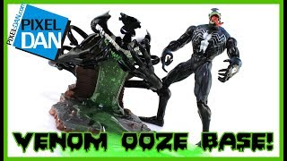 Spider-Man Classics Venom Ooze Base 2002 Slime Figure Video Review