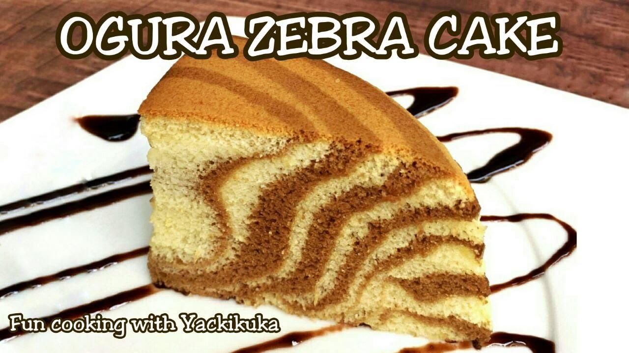 How to make Ogura Zebra Cake   RESEP Ogura - YouTube 9b0ef55c8e