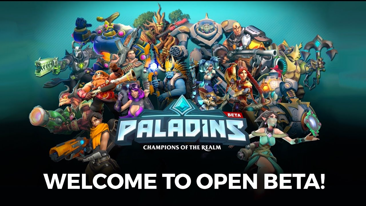 3d Wallpaper Live Wallpaper Paladins Welcome To Open Beta Youtube
