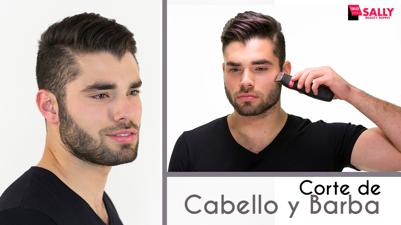 Sallymen corte de cabello y barba en casa youtube for Tipos de corte de barba