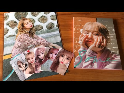 Unboxing NC.A 2nd Mini Album Some- + Makestar Goods