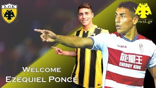 Enwsi.gr ● Welcome to AEK Athens ● Ezequiel Ponce ● 2018/19 ● HD