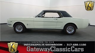 1965 Ford Mustang - Gateway Classic Cars Indianapolis - #571NDY