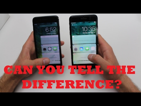 Good Video Comparison Between Fake And Real Iphone 7 Plus