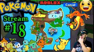 "POKEMON in Roblox Ch.#17, ""Luk3 Play CUPHEAD NAW"" 1st time playing PC(Max Graphics) #18th Stream"