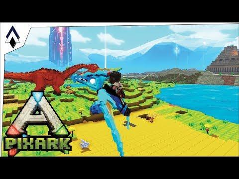 Pixel Pilots! : Ep2 : PixARK : Geeks Network Gameplay