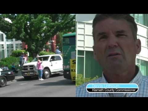 Klamath Basin Water Shut-off Protest July 1, 2013