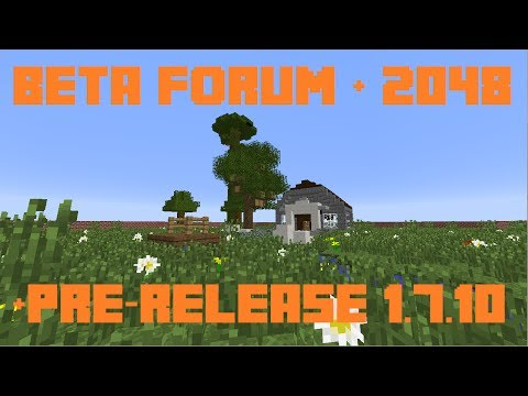 Minecraft Weekly News: 1.7.10 Pre-Release, New Minecraft Forum & More!