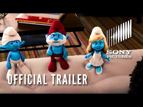 The Smurfs trailers