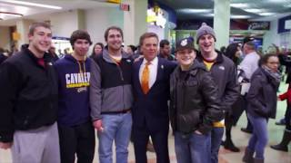 Voice of the Cleveland Cavaliers Fred McLeod's gameday routine
