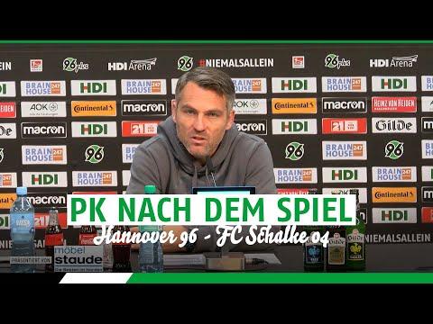 PK nach dem Spiel | Hannover 96 - FC Schalke 04