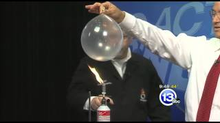 A balloon that does not burn!