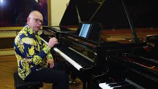 Piano Lesson on playing repeated notes, by Graham Fitch