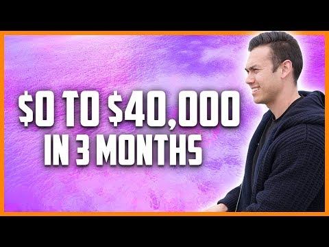 Affiliate Marketing For Beginners In 2019 ($0 To $40,000 In 3 Months)