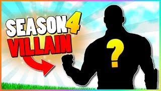 Official Season 4 VILLAIN SKIN Teaser! | Fortnite Battle Royale