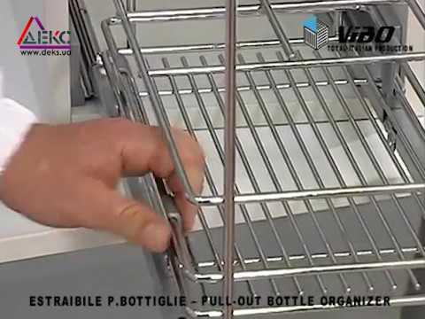Установка Доводчиков Blum BLUMOTION на кухне, на выдвижные ящики .